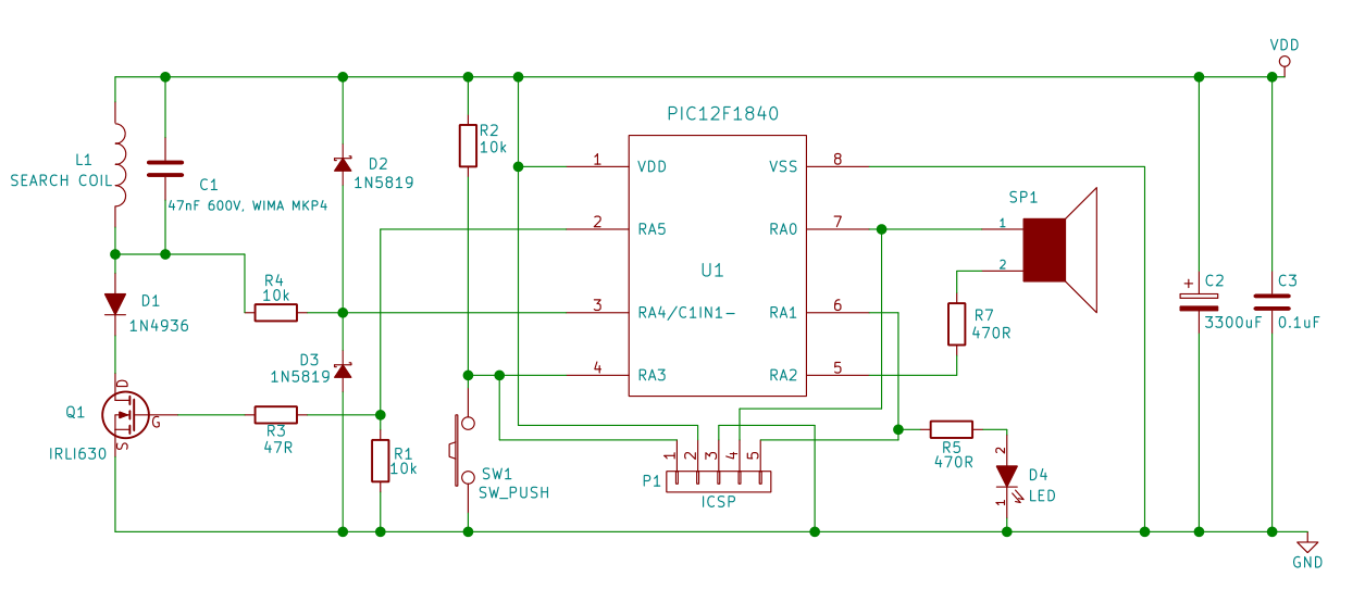 puter wiring diagram with Metal Detector Design Schematics on Dc  lifier Diagram together with Slide Wiring Diagram as well Honda Odyssey Starter Relay Location additionally puter Fan Schematic besides Asus Motherboard Diagram.