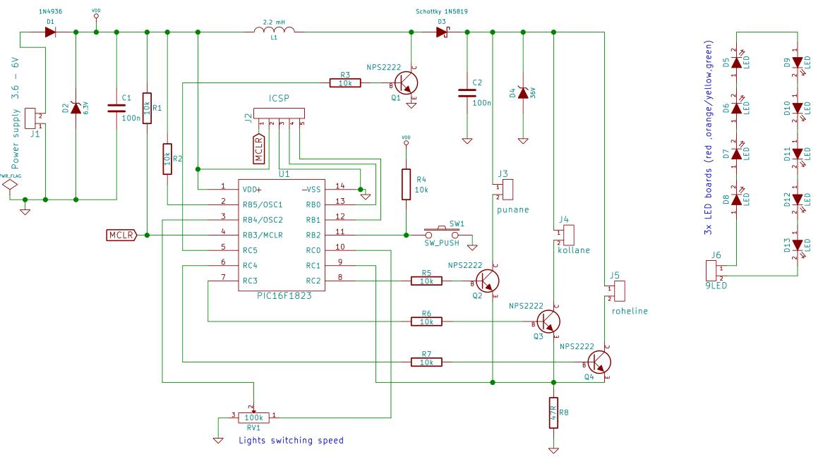 Astonishing Traffic Lights Circuit Basic Electronics Wiring Diagram Wiring 101 Photwellnesstrialsorg